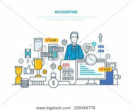 Accounting, Analysis, Audit. Management, Market Research, Working With Documentation. Financial Acco