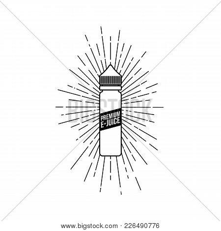 Personal Vaporizer E-cigarette E-juice Liquid Plastic Bottle Spark Sunray Burst