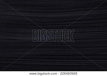 Dark Texture. Chalk Board. Close. Background.  Black