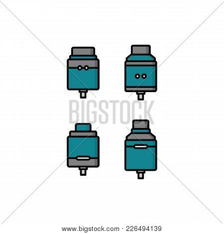 Personal Vaporizer E-cigarette Atomizer Tank Clearomizer Atty