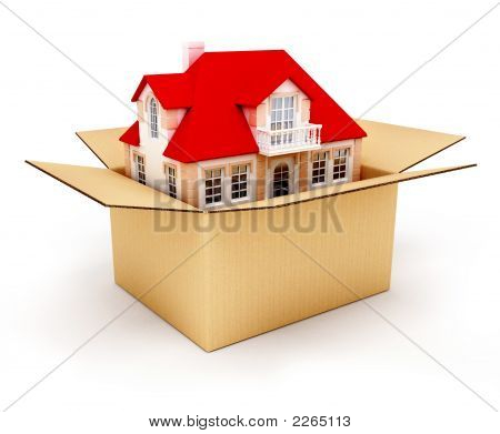 New House In Box