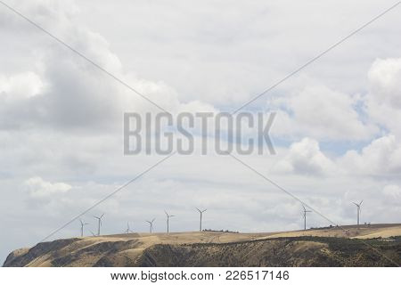 Wind Turbines, Cape Jervis, Fleurieu Peninsula, South Australia