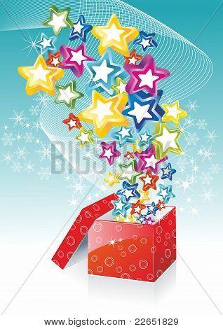 Star shining fancy gift