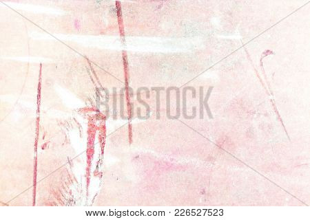 Pink watercolor background abstract in soft pastel spring colors