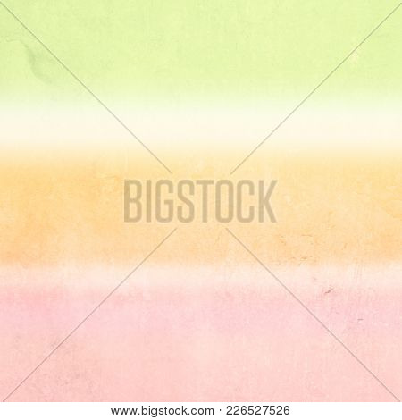 Pastel background with pale watercolor stripes - soft spring colors