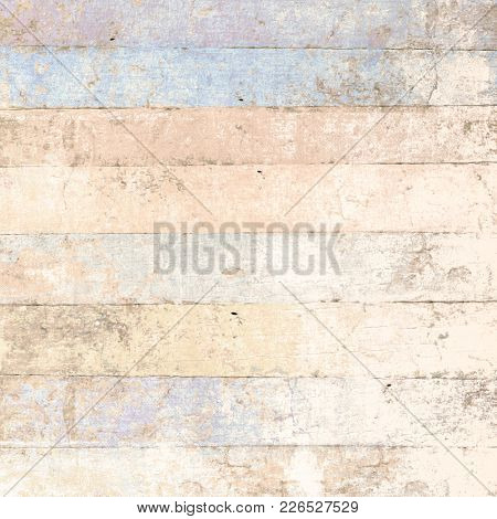 Wood background painted soft beige blue