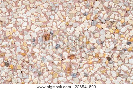 Closeup Surface Brown Marble Stone Floor Texture Background