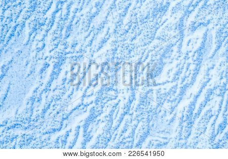 Closeup Surface Abstract Blue Tile Marble Floor Texture Background
