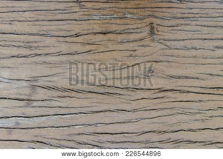 Close Up Old Wall Brown Wood For Background