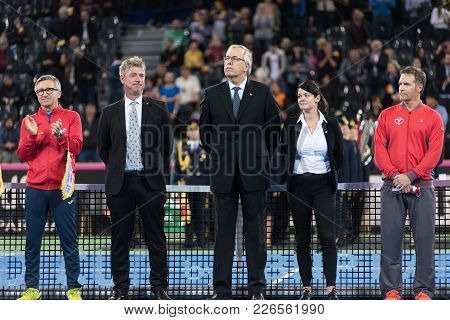 Tennis Referees And Captains