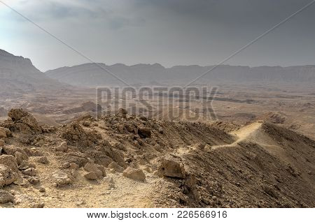 Travel In Israel Negev Desert Landscape