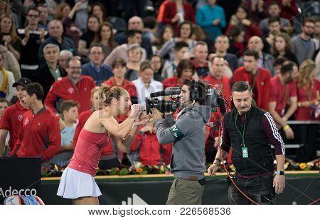 Tennis Player Signing An Autograph
