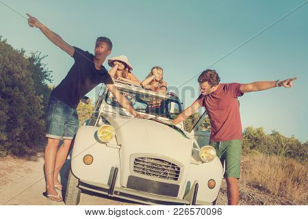 Fighting Over Directions In Vacations