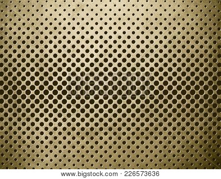 Highly Detailed Image Of Grunge Metal Background