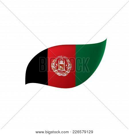 Afghanistan Flag, Vector Illustration On A White Background