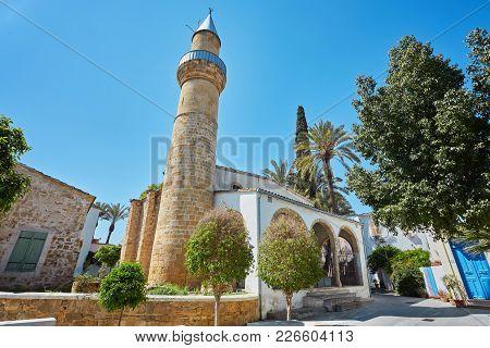 Taht El Kale Mosque In Nicosia. Cyprus
