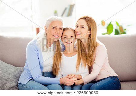 Motherhood Parenthood People Tenderness Gentle Comfort International Women's Day Concept. Portrait O