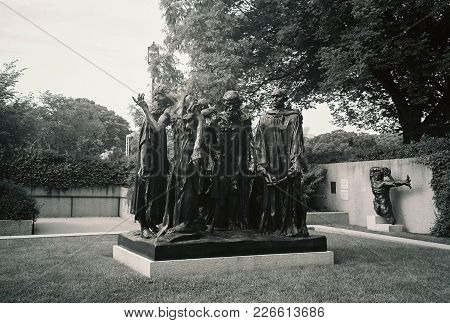 The Burghers Of Calais By Auguste Rodin At The Hirshorn Museum And Sculpture Garden, Washington, D.c