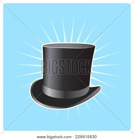Illusionist's Top Hat - Poster With Vintage Capitalist Hat