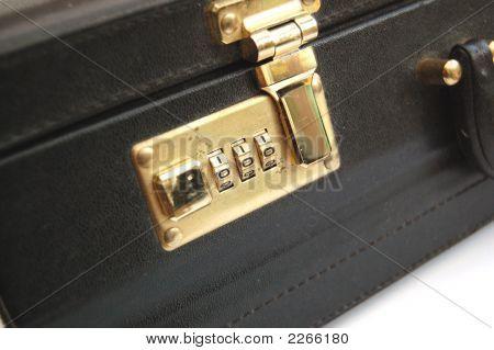 Briefcase Closeup