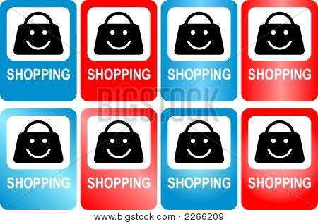 """Sign """"Shopping"""""""