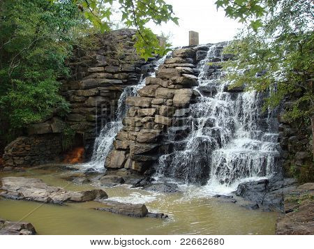 Chewacla State Park Waterfall