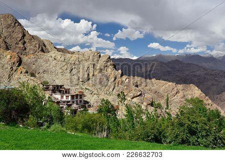 Hemis Old  Buddhist Monastery In Ladakh, India