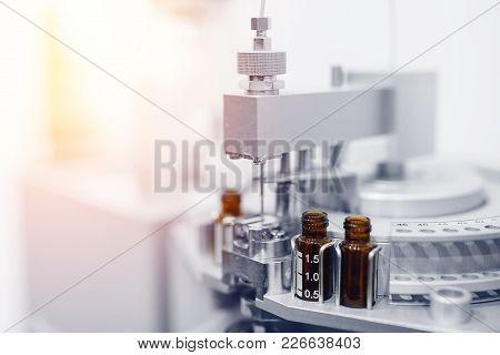 Pharmaceutical Industry. Pharmaceutical Production Of Liquid Pharmaceuticals