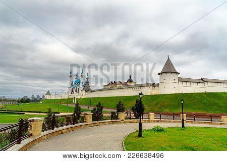 Kazan Kremlin And Kul-sharif Mosque. Kazan. Russia