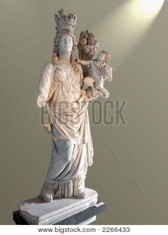 Goddess With Child