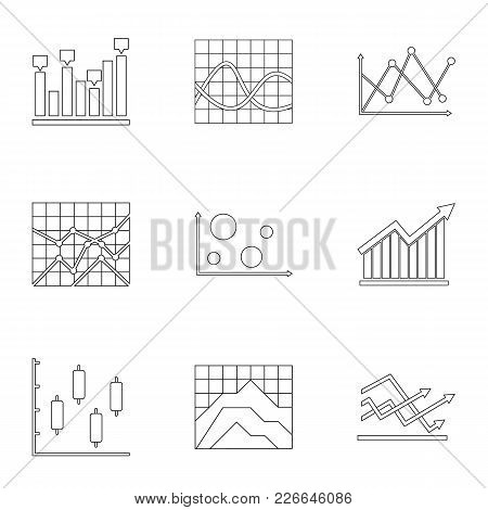 Stand Icons Set. Outline Set Of 9 Stand Vector Icons For Web Isolated On White Background