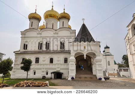 Architecture Of The Holy Trinity Ipatievsky Monastery. Here The First Tsar Of The Romanov Dynasty. G
