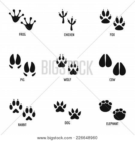 Mark Of The Beast Icons Set. Simple Set Of 9 Mark Of The Beast Vector Icons For Web Isolated On Whit