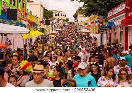 Brazilian Carnival 2018 In Olinda