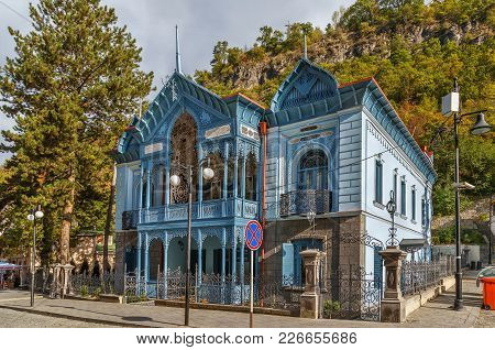 The House, Called Firuza (turquoise), Was Built In 1892 By The Iranian Consul In The Caucasus, Borjo