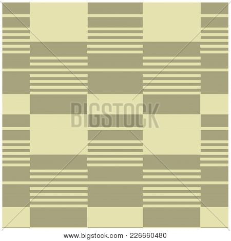 Geometric Horizontal Firm Seamless Pattern. Design For Print, Fabric, Textile. Seamless Wallpaper