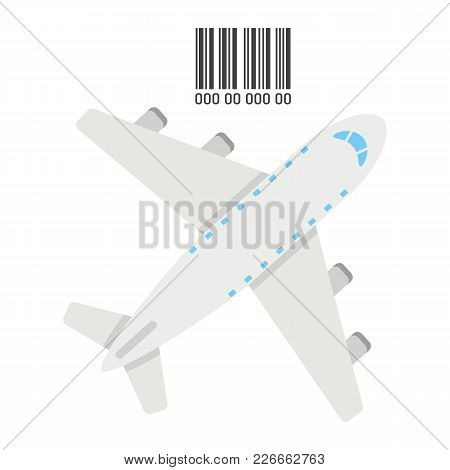 Air Freight Flat Icon, Logistic And Delivery, Air Cargo Sign Vector Graphics, A Colorful Solid Patte