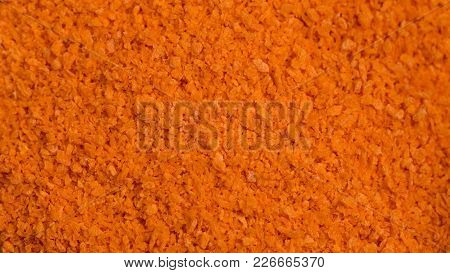 Breadcrumbs Spice. Macro Photography. Food Photography Concept