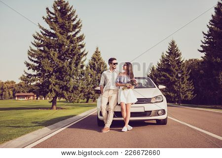 Carefree, Cheerful Married Family, Rent Transport Trip, Relax, Chill, Escape Trip, Valentine, Honeym