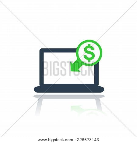 Internet Banking, Payments Icon, Eps 10 File, Easy To Edit