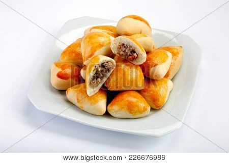 Brazilian snack, Arabic esfiha