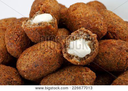 Snack, fried kibbe