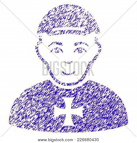 Grunge Maltese Cross Awarded Man Rubber Seal Stamp Watermark. Icon Symbol With Grunge Design And Unc