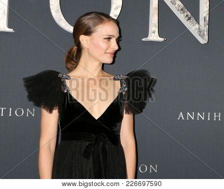LOS ANGELES - FEB 13:  Natalie Portman at the