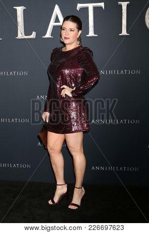 LOS ANGELES - FEB 13:  Alicia Machado at the