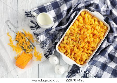 Classic Baked Homemade Macaroni And Cheese
