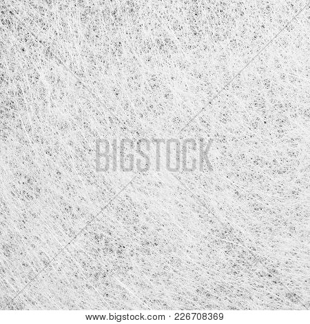 Fiber Glass Or Fiberglass Filaments Foil, Abstract Texture Background. High Resolution Photography.
