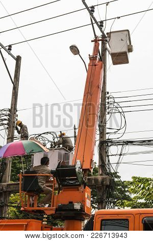Editorial Image Of Bangkok, Thailand - August 5, 2017