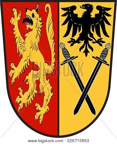 Coat Of Arms Of Welver Is A Municipality In The District Of Soest, In North Rhine-westphalia, German