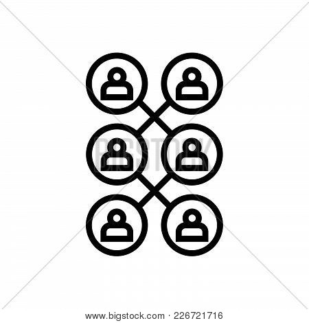 Share Icon In Trendy Flat Style Isolated On Background.